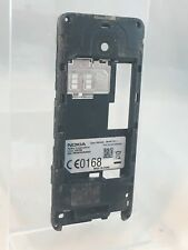 Original Genuine - Nokia 301 - Black - Replacement Rear Mid Frame Housing