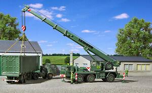 H0 Bundeswehr Grue Mobile Liebherr Ltm 1050/3, Kit 1:87, Kibri 18043
