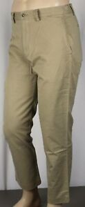 Polo Ralph Lauren Khaki Tan Straight Stretch Fit Pants NWT