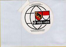 ADESIVO VINTAGE STICKER  RBS ABS BERN