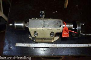 673477 - Teilapperat / -Tisch mit einstellbarer, mitlaufender Zentrierspitze