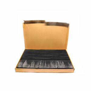 "(Lot of 10) NEW Shaw M884100505 Ecoworx 36""x18"" Black Horizontal Carpet Tiles"