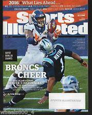 2016 Sports Illustrated Super Bowl 50 Champs Denver Broncos Von Miller Subs Iss.