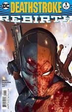 Deathstroke Rebirth #1 (DC Comics)
