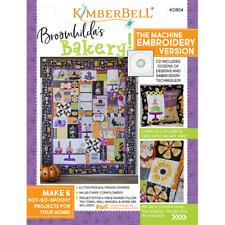 Kimberbell's Broomhilda's Bakery Machine Embroidery Version KD804