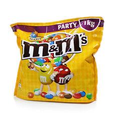 New m&m's Peanut Party Bag 1kg