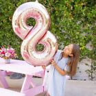 """32"""" BIG Number 8 Rose Gold Foil Balloon - Number 8 Balloon - Eight Ball"""