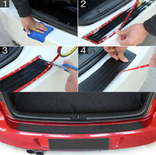Accessories Car Rubber Rear Guard Bumper Protector Trim Cover US Shipping 1set