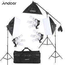 Andoer Studio Photo Video Softbox Lighting Kit Photo Equipment US STOCK