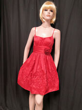 Cute Flirty 90s does 50s Vintage Sun Dress w Ornate Soutache Work S-M 7/8