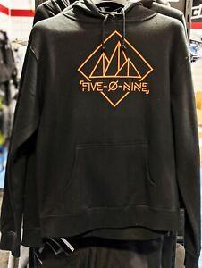 509 Women's XL Geo Mountain Pullover Hoodie - Black - Free Shipping