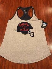 Nike Women's Houston Texans Football Helmet Tank Top Jersey Shirt Medium M NFL