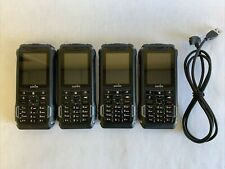Lot Of 4 Sonim Xp5700 Cell Phone - 4Gb Black (Verizon) Military Grade Rugged