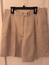 "Liz Claiborne Woman""a Size 14 Petite Khaki Shorts"