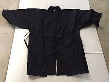 Large Martial Arts Top Jacket ~ Black ~ NWOT