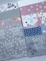 """48 - 6.5"""" Flannel Precut Squares Charm Pack - Woodland Bear & Friends Collection"""
