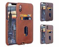 Apple iPhone Xs / iPhone X Handy Hülle Cover Case Kartenfach Schutzhülle Etui