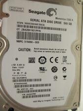 500 gb Seagate st9500420as p/n 9hv144-022 006hpm1 wu Disque dur Thin disc x146