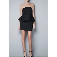56e1c5e4 Zara Sleeveless Dresses for Women with Peplum | eBay