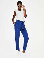 Boden Hose - Melina Paperbag Pants - Damenhose Kobalt - NEU - UK 8 EU 36