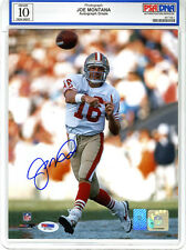 Joe Montana SIGNED 8x10 Photo San Francisco 49ers GEM MINT 10 PSA/DNA AUTOGRAPH
