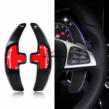 Carbon Fiber For Benz S CLA CLS GLE W166 Steering Wheel Paddle Extension Shifter