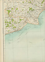 2310 1898 MAP of Royal Atlas England & Wales Pl.48 DOVER (Kent)