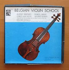 Belgian Violin School Werthen Debot Van Neste Raskin 4xLP EMI 4 C161-95897/900