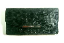 Nine West Haute Holiday SLG Trifold Clutch Wallet Black MM New With Tag $39