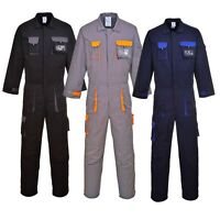 Portwest TX15 Texo black, grey or navy contrast coverall - small-3XL