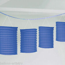 3.65m Bright ROYAL BLUE Wedding Birthday Party Paper Lantern Garland Decoration