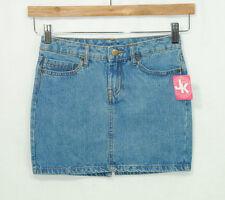 J Khaki Girls Size 10 Denim Skirt Blue Youth New