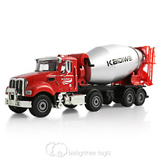 KAIDIWEI 1/50 Scale Diecast Cement Mixer Truck Construction Vehicle Car Model