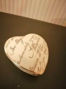 Wedgewood, Bicentenary celebration,  bone china trinket box.