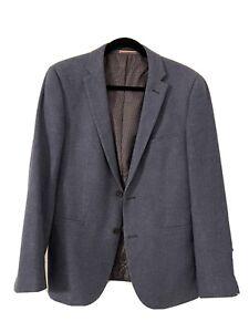 Wool Blazer Sports Blue Size 96NR - Daniel Hechter