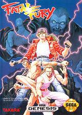 ## SEGA GENESIS - Fatal Fury 1 - TOP (US Mega Drive Spiel) ##