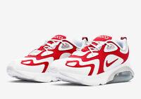 Nike Men's Shoes Nike Air Max 200 AQ2568 100 White University Red Choose Sizes