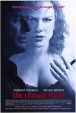 THE HUMAN STAIN Movie POSTER 27x40 Anthony Hopkins Nicole Kidman Ed Harris Gary