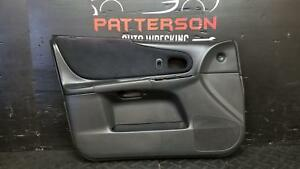 2003 MAZDA PROTEGE Driver LH Front Power Inside Interior Door Trim Panel Wear
