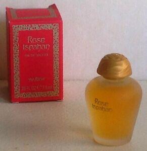  Miniature de parfum Rose Ispahan d'Yves Rocher (EDT) 7,5ml plein avec boite