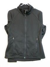 "The north face Women's Windwall black Full zip Jacket Size S/P ""glassdoor"" on it"