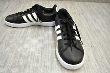 adidas Grand Court AW4288 Comfort Shoes, Women's Size 9, Black
