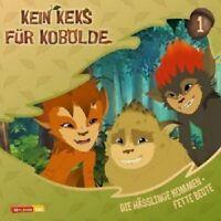 KEIN KEKS FÜR KOBOLDE (TV-HORSPIEL) - 01: DIE HASSLINGE KOMMEN/FETTE... CD NEU