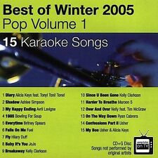 Various Artists : Keynote Karaoke: Pop Best Of Winter 2005 CD