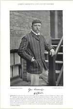 1895 Cricket Crosfield, S M, Lancashire: Owen, H G, nell'Essex