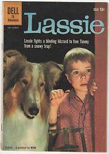 LASSIE 48  DELL TV COMIC  1960  PHOTO COVER  TIMMY