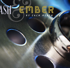 Ash and Ember Silver Curved Size 12 (2 Rings) by Zach Heath