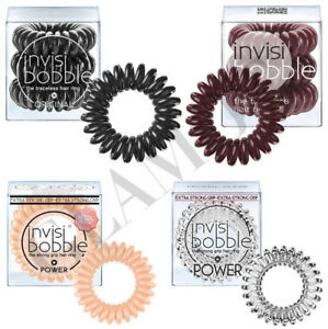 Invisibobble Power Pain Free Hair Bobble. Pack Of 3 In Various Colours