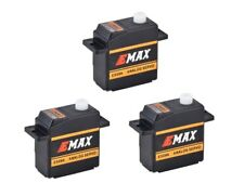 3x Emax ES09A Micro Mini Servo 11,6g 0,09s 2,4kg mit Kugellager ES08A