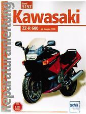 Buch Reparaturanleitung Kawasaki ZZ-R 600 / ZZR 600 ab Baujahr 1990 Band 5157